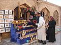 Boutique de souvenirs (Khiva, Ouzbékistan) (5606156305).jpg