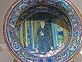 Bowl with Saint Nicholas of Tolentino Maiolica Gubbio 1524 CE (2) (1217134800).jpg