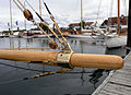 Bowsprit fitting on a Fife yacht (2604893229).jpg