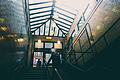 Boylston station eastbound headhouse interior, September 2014.jpg