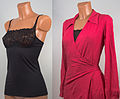 Bra shirt and same with viscose wrap dress.jpg