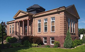 National Register of Historic Places listings in Crow Wing County, Minnesota - Image: Brainerd Carnegie Library 2016