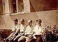 Bratři Jarka Karel Vaclav Jan Rajlichovi v Dirne 1939.jpg