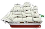 Brazilian sailing ship Cisne Branco.png