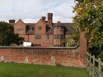 Black Ladies Priory - Black Ladies today: a large private residence incorporating 16th and 17th century structures erected by the Giffard family after the dissolution of the priory.