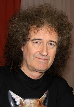 Fotografia di Brian May