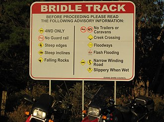 Hill End, New South Wales - Image: Bridal Track