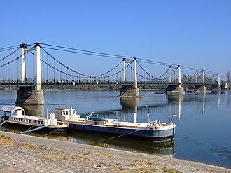 Montjean-sur-Loire - Loire bridge