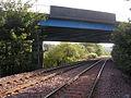 Bridge over Railway near Cumbernauld - geograph.org.uk - 251088.jpg