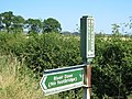 Bridleway sign at Cowldyke Farm - geograph.org.uk - 204384.jpg