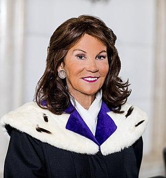Brigitte Bierlein - Image: Brigitte Bierlein (cropped)