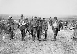World War I dead and wounded