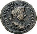 Bronze-Uranius Antoninus-Elagabal stone-SGI 4414 (obverse).jpg