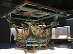 Bronze Square Table Stand Decorated with Dragon-and-phoenix.jpg