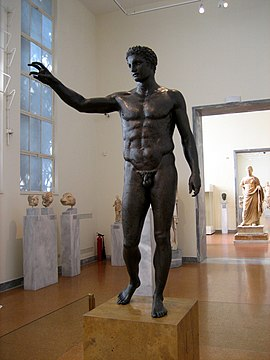 Bronze statue of a youth.jpg