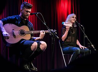Broods music duo from Nelson, New Zealand