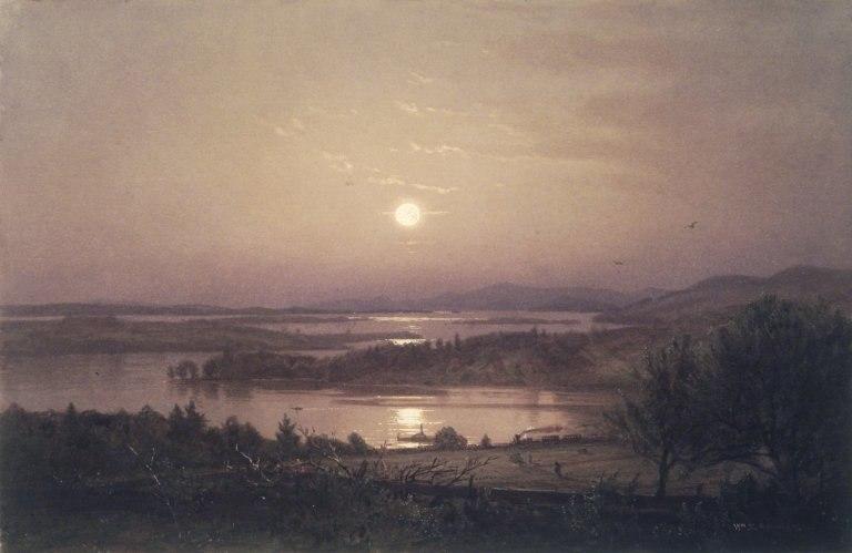 Brooklyn Museum - Lake Winnipesaukee - William Trost Richards - overall
