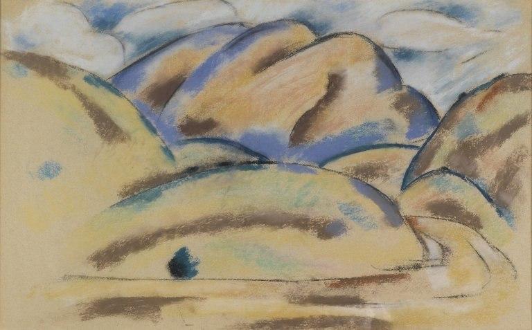 Brooklyn Museum - Landscape New Mexico - Marsden Hartley
