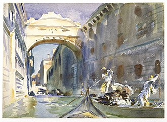 Bridge of Sighs - Image: Brooklyn Museum The Bridge of Sighs John Singer Sargent