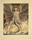 Brooklyn Museum - The Great Red Dragon and the Woman Clothed with the Sun (Rev. 12 1-4) - William Blake.jpg