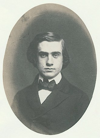 Henry Billings Brown - Brown at age 19 or 20, Yale College Graduation Picture, 1856