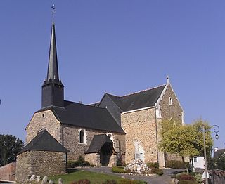 Bruc-sur-Aff Commune in Brittany, France