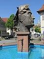 Brunnenfigur des Römischen Kaisers Vespasian in Riegel am Kaiserstuhl - panoramio.jpg