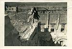 Buckling of heavy, reinforced-concrete wall of Teikoku Bank Company, Hiroshima branch.jpg
