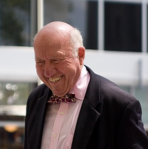 Bud Collins - Image: Bud Collins on May 2008 in NY