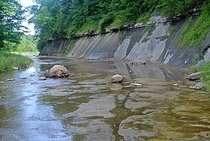 Buffalo River (New York) - Buffalo Creek flowing near Elma, New York.