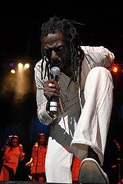 Buju Banton performing in 2007