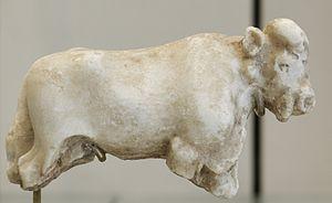 Jemdet Nasr period - Image: Bull Warka Louvre AO8218
