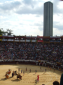 Bullfighting in Bogota by Anthony Letmon.png