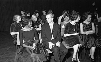 German Academic Exchange Service - DAAD official reception in 1961