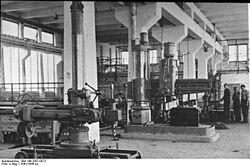 סדנאות מלאכה של אי גה פארבן באושוויץ-מונוביץ