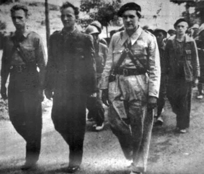 Briagadas Internacionales antes de la Batalla de Guadalajara en 1937. Autor: Desconocido. Fuente: Bundesarchiv, Bild 183-Z0806-036 (CC-BY-SA 3.0.)