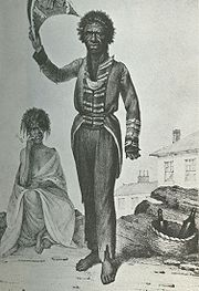 Bungaree by Augustus Earle (1826)