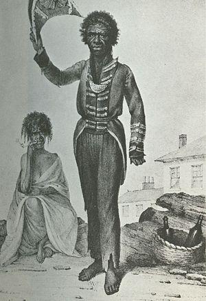 Bungaree - Bungaree by Augustus Earle (1826)