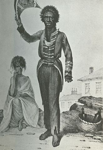 Bungaree - Bungaree by Augustus Earle (1826)