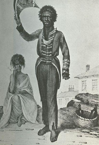 Бун-Га-Ри, зарисовка Августуса Орла