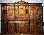 Maqueta de madera de Miguel Ángel para la fachada de San Lorenzo (Casa Buonarotti, Florencia)