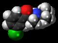 Bupropion molecule spacefill.png