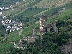 Fürstenberg Castle (Rheindiebach) - Image: Burg Fuerstenberg Rheindiebach 01s