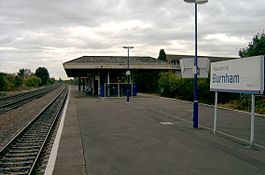 Burnham station.JPG