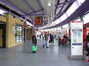 Burnley bus station - Image: Burnley Bus Station geograph.org.uk 1317581