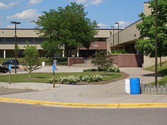 Burnsville–Eagan–Savage School District - Burnsville High School front entrance