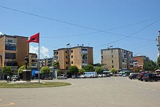 Burrel, Albania - Image: Burrel Square