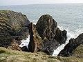 Burrowhead - Sea Cliffs - geograph.org.uk - 1315956.jpg