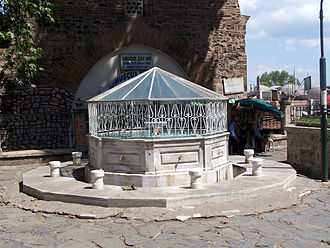 Grand Mosque of Bursa - Image: Bursa Ulu Camii, fountain