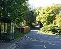 Bus terminus, Upper Cwmbran - geograph.org.uk - 1639156.jpg